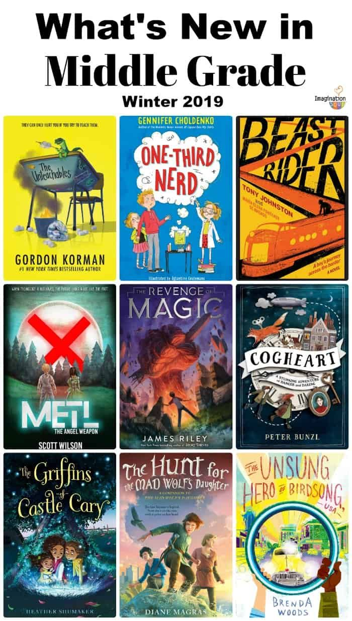 What's New in Middle Grade Books, February 2019 Book
