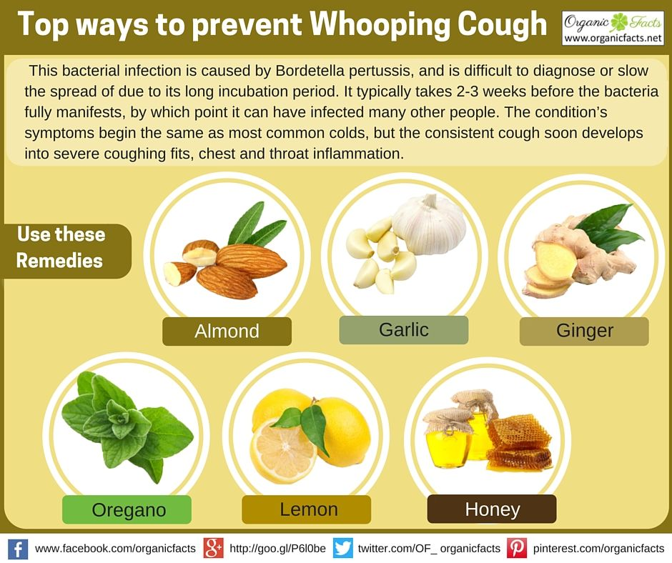 Homeopathic treatment for whooping cough in adults