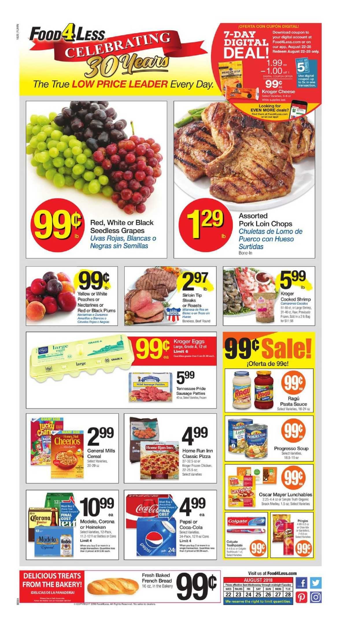 Food 4 less weekly ad flyer mar 11 mar 17 2020 food