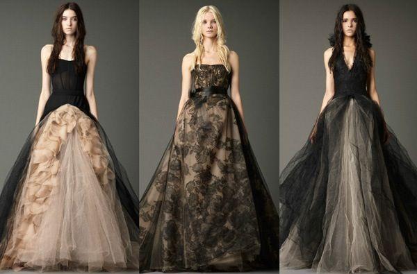 Black non traditional wedding dresses | Future Wedding ;p ...