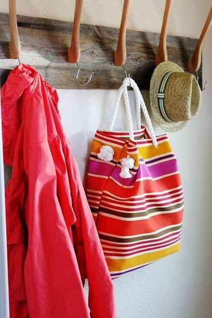 Headed to the beach? Bring a no-sew tote!