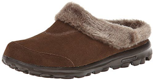 Skechers Performance Women's Go Walk Embrace Memory Fur Slipper,Chocolate,5 M US Skechers http://www.amazon.com/dp/B00IUF8MW0/ref=cm_sw_r_pi_dp_Nmj1wb15PHYYZ