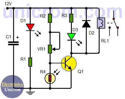 Unique Ldr Transistor Crest - Schematic Circuit Diagram ...