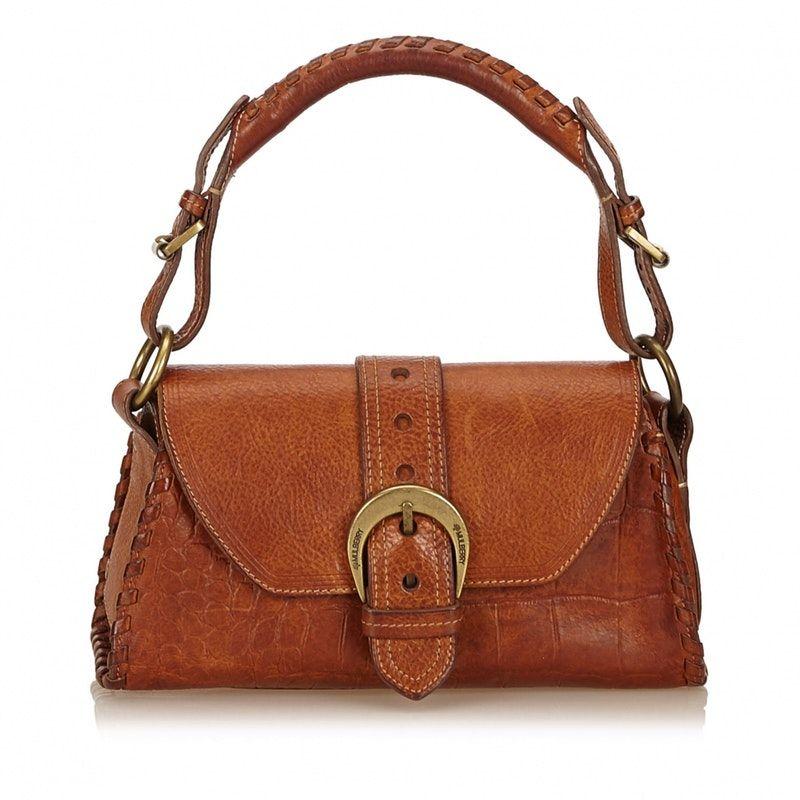 brown Leather MULBERRY Handbag - Vestiaire Collective  78da096f0b4ae