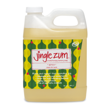 Jingle Zum Clean Laundry Soap Scented Like Spruce Zum Products