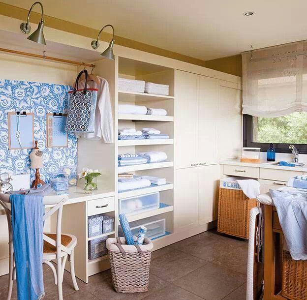 Cuarto de lavado y planchado lavadero pinterest for Cuartos lavaderos