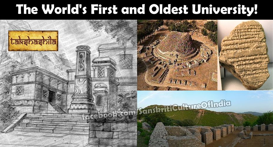 Takshashila The World S First And Oldest University First