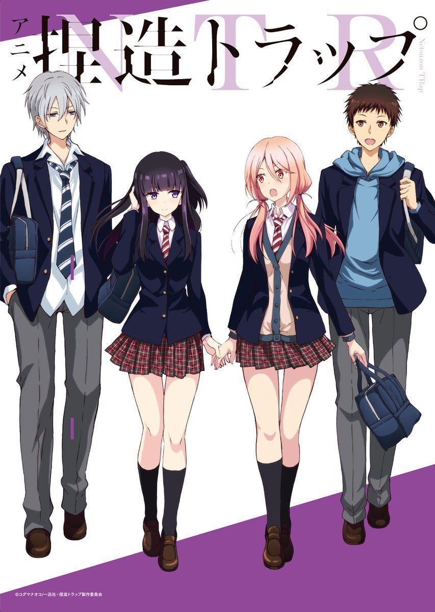 百合动画《捏造陷阱NTR》OP主题曲确定由新人动漫歌手「东城阳奏」演唱 Anime group of