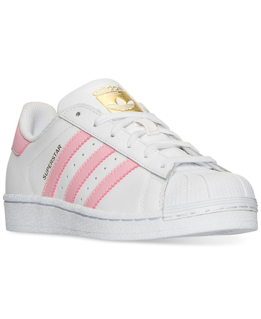 94f1d2b77b7e1 adidas Big Girls  Superstar Casual Sneakers from Finish Line