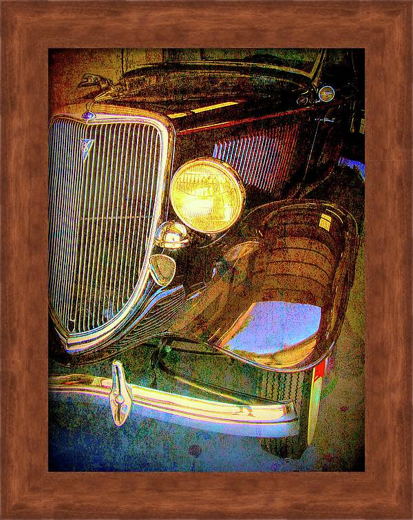 Red 1934 Ford Grunge Framed Print By Dk Digital In 2020 Canvas Prints Acrylic Prints Art