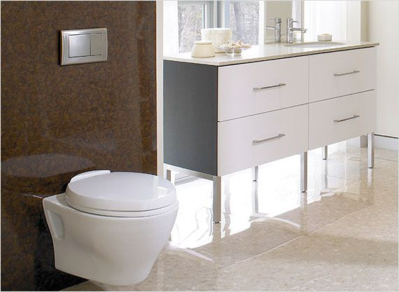 Innovative Designs Such As The Wall Mount Toto Aquia Require A Bit Of Advance Planning Dual Flush Toilet Bathroom Design Trends Toilet