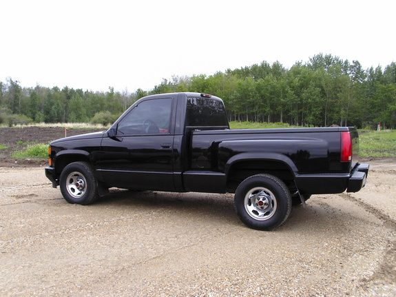 Edmonton Area Chevrolet Pickup Trucks For Sale Buy Used: 1998 Chevy Silverado Extended Cab Step Bed