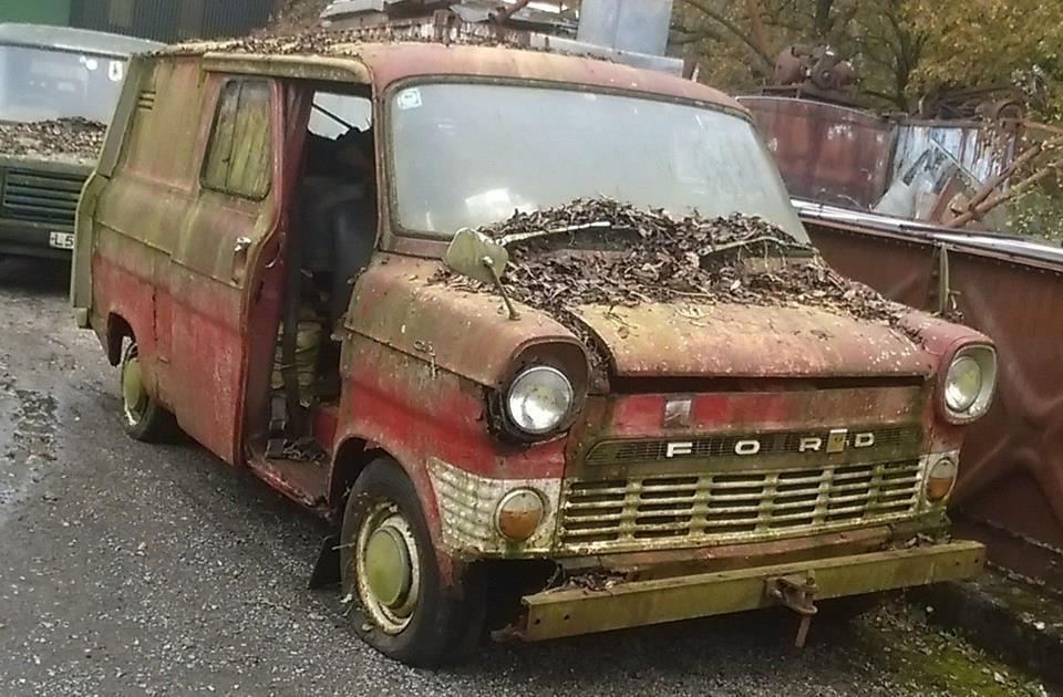 los angeles competitive price good looking Mk1 ford transit van | Junkyard cars, Abandoned cars, Ford ...