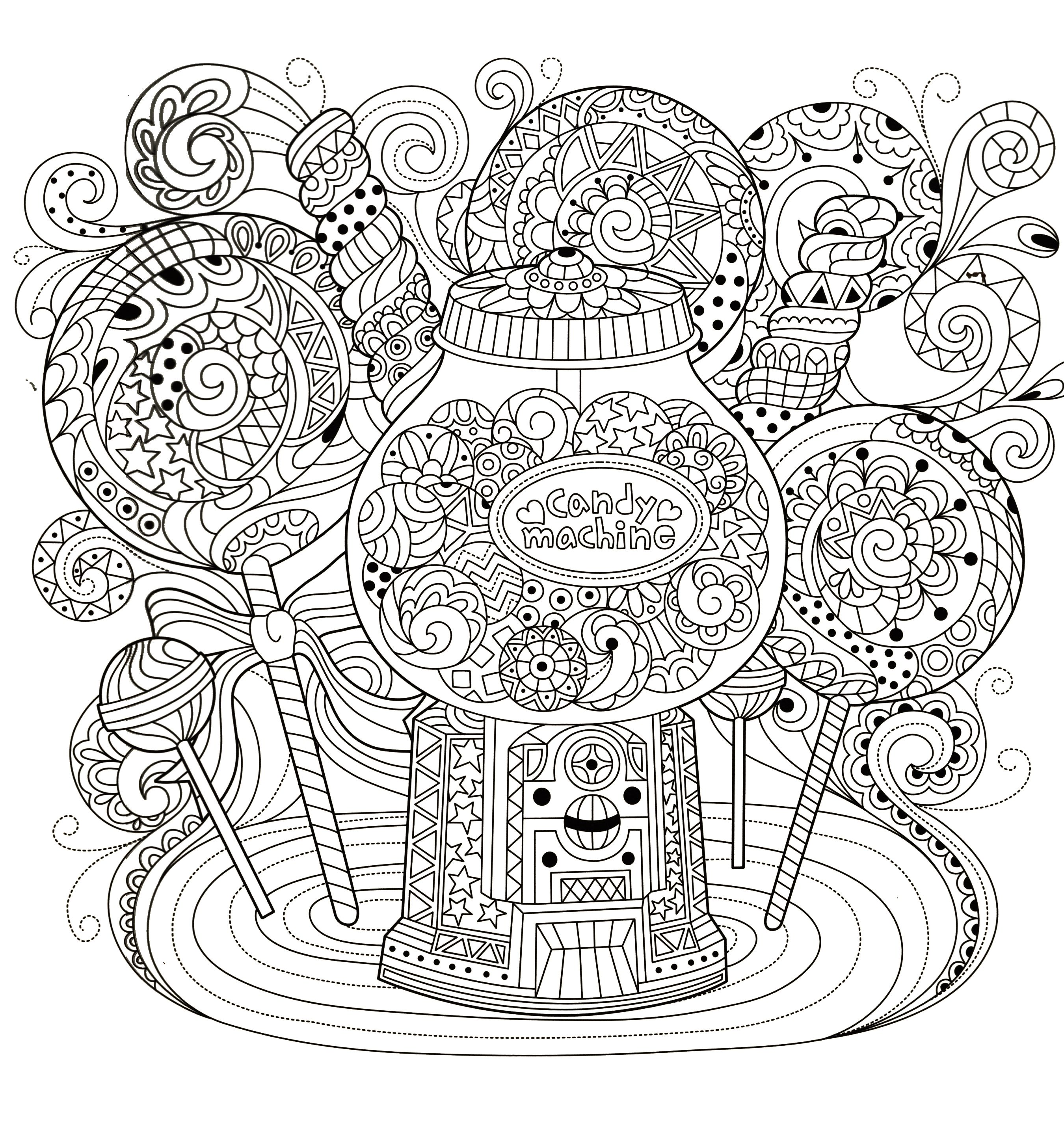 Mandala coloring pages image by Gena Andreano on Coloring ...