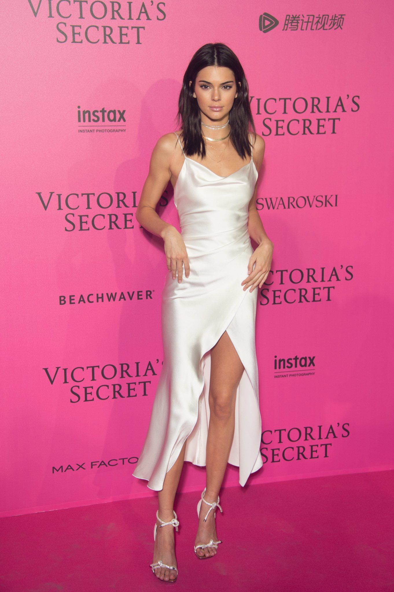 Wedding attendee dresses  Kendall Jenner   dresses uc  Pinterest  th Kylie and Silk