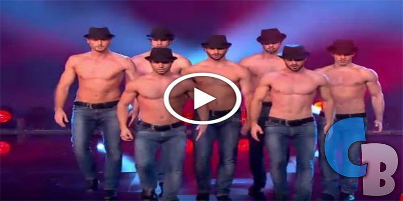 Este es el baile que hicieron estos hombres que está volviendo locas a todas las mujeres