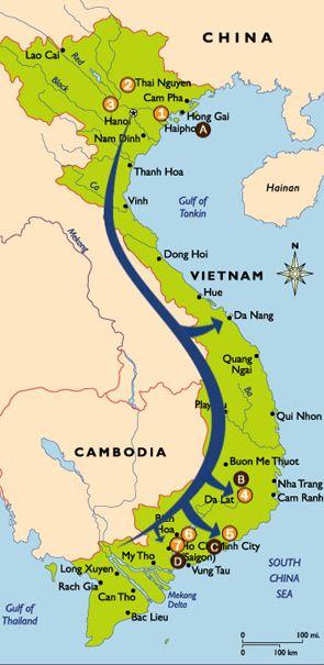 Ho Chi Minh Trail Motorbike Tours http://www ...