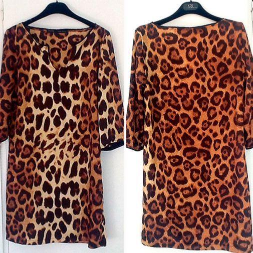 f4f715afaa Vestido de leopardo de la marca zara - Chicfy