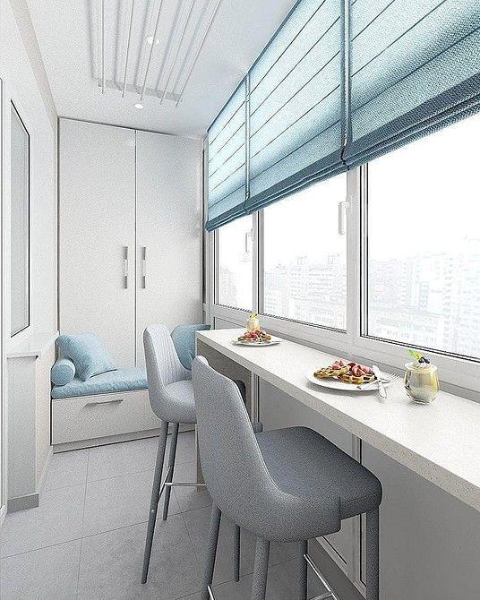 Шкафы на балкон: 50 фото удачных примеров и полезные ...