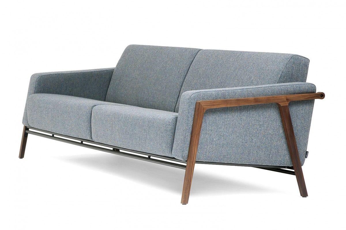 3 Zits Design Bank.Harvink Splinter 3 Zits Bank Wood Sofa Home Decor Living Room
