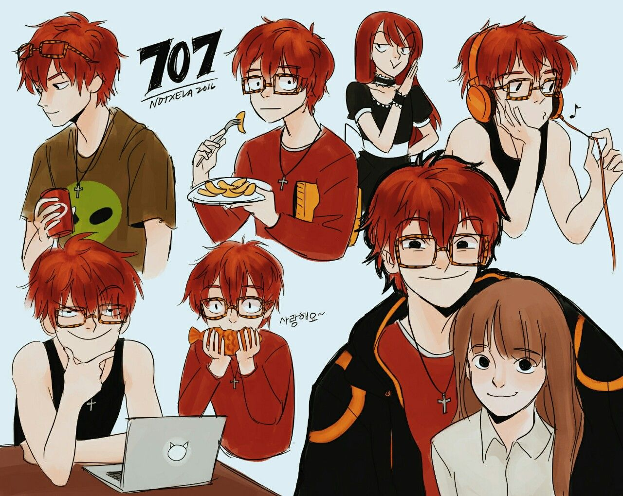 Defender of Justice, 707! (Honestly, can he get any less cuter