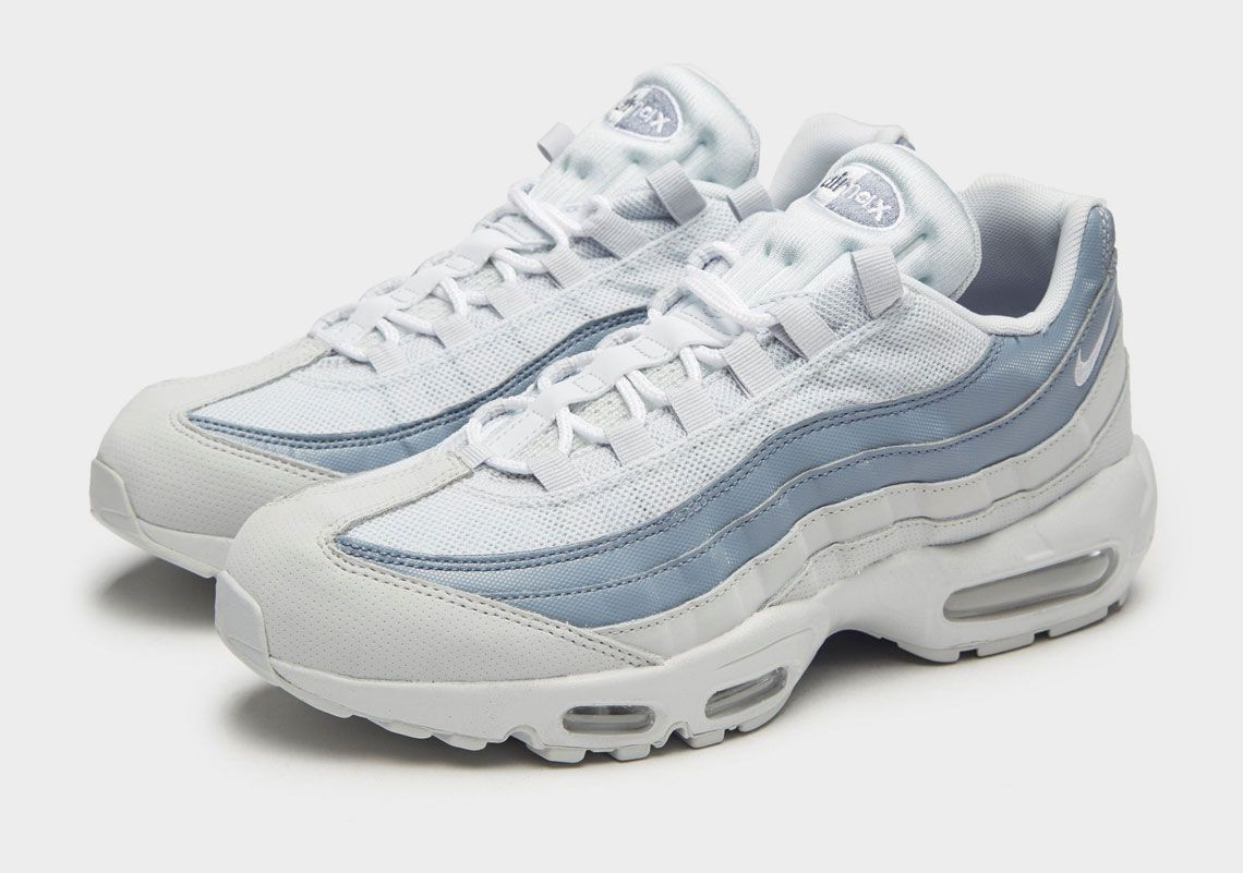 best service 96441 dc47c Nike Air Max 95 Light Blue And White - Lifestyle news website covering  streetwear, sneakers