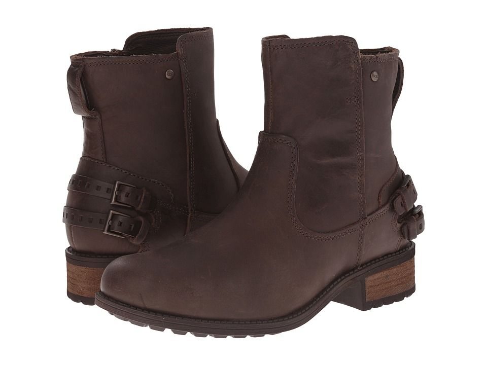 Womens Boots UGG Oregon Black Twinface/Leather