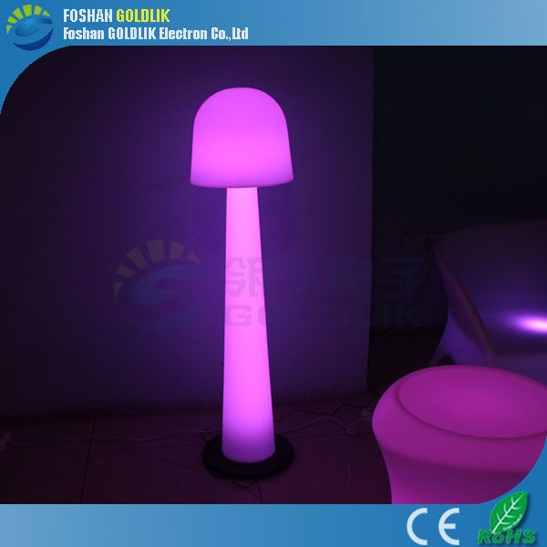 Outdoor floor lamp Plastic RGB Illuminous LED Floor Lamp www ...