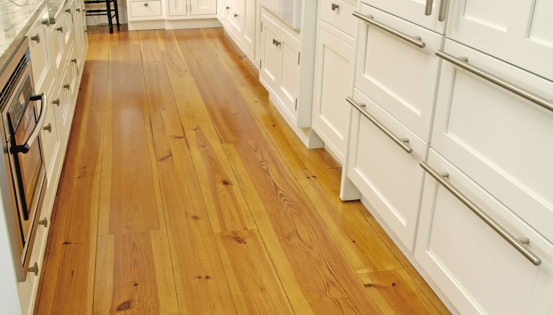 Heart pine flooring and solid wood flooring from carlisle for Wide plank wood flooring