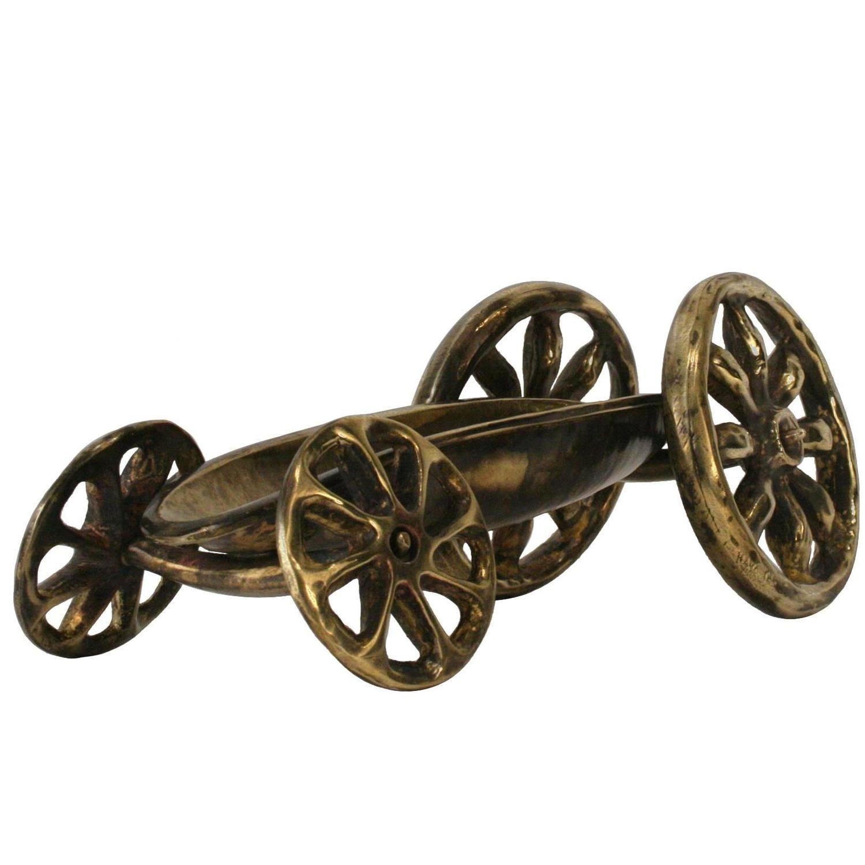 "1980s American Bronze ""Big Wheel Cigar Car"" By Robert Lee"