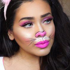 Cute & Fast #Bunny Halloween makeup | bunny ears | Pinterest ...