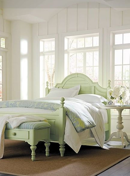Inspired Ideas For Pretty Painted Beds Coastal Bedroom Furniture Coastal Living Bedroom Stanley Furniture Coastal Living