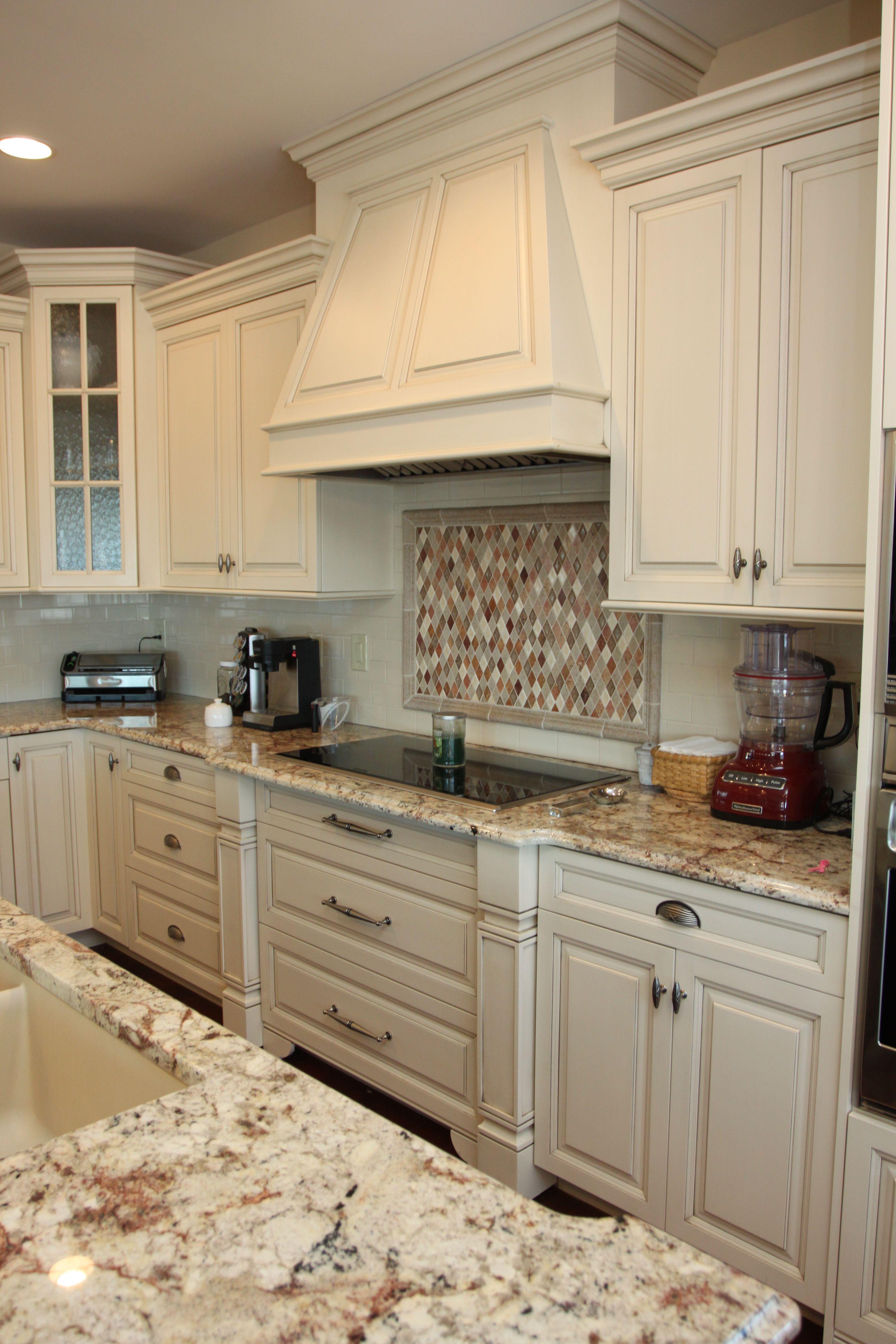 Painted Wood Hood Custom Kitchen Cabinets Custom Built Kitchen Cabinets Kitchen Cabinets