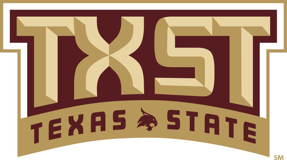 Texas State Bobcats Alternate Logo 2017 Pres Texas State Bobcats Texas State Texas