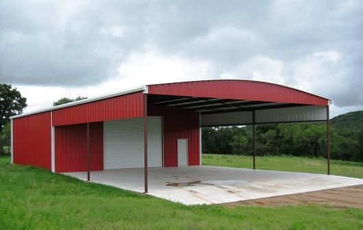 Custom Metal Building with Awning | Possibilities | Pinterest ...