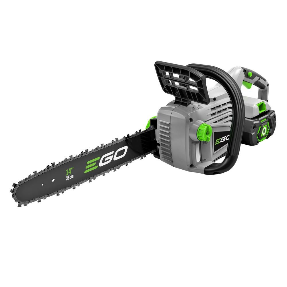 EGO 14 in. 56-Volt Lithium-ion Cordless Chainsaw with 2.5Ah Battery and Charger Included