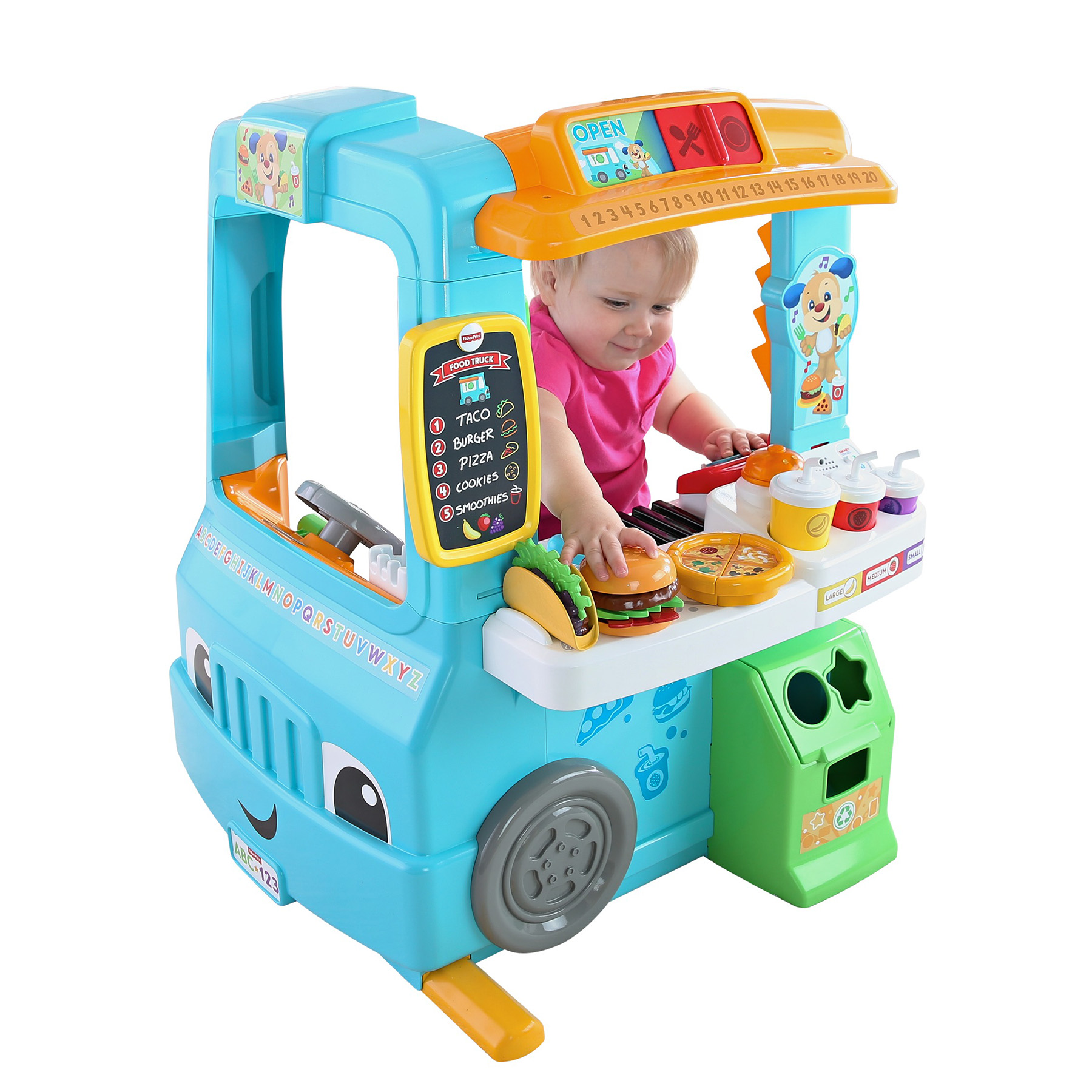 Laugh & Learn Servin' Up Fun Food Truck by Fisher-Price ...