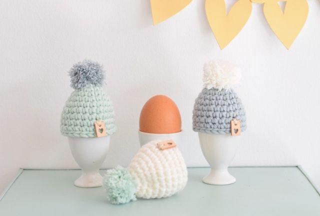 Eierwarmers Haken Easter Spring Time Pinterest Haken