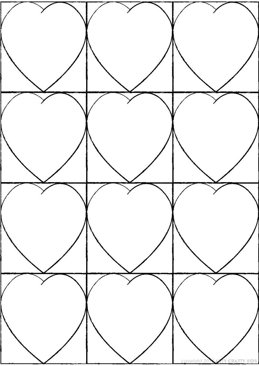 To download double click on the kandinsky heart template icon related