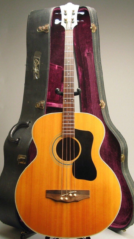 8ffeef835631 1976 Guild Model B-50 NT acoustic bass guitar