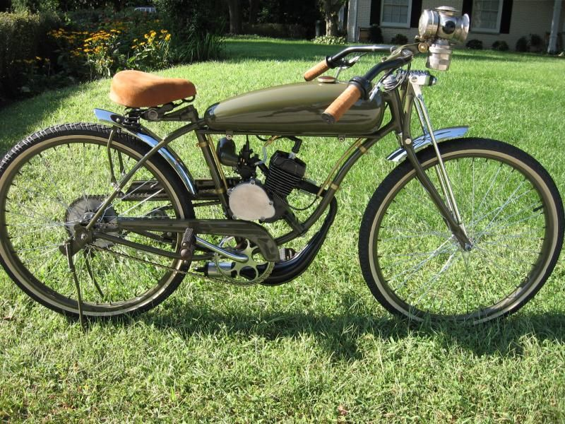 Custom motored bicycles motor kits for sale for Custom motorized bicycles parts