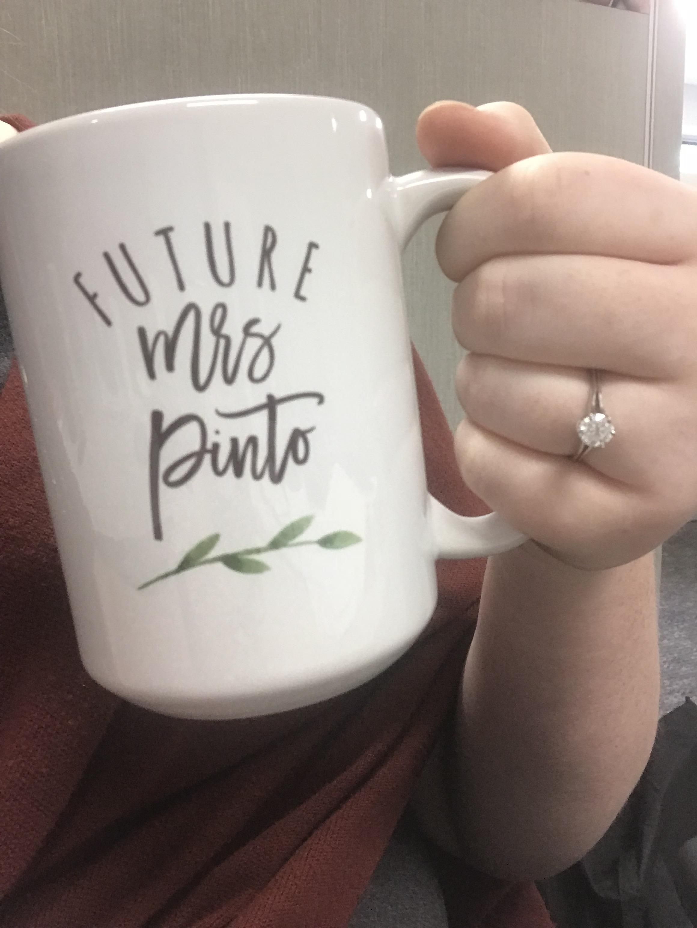 Engaged two weeks ago! Any funny/punny hashtag ideas with