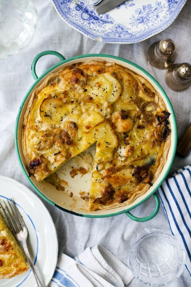Kartoffel Tarte