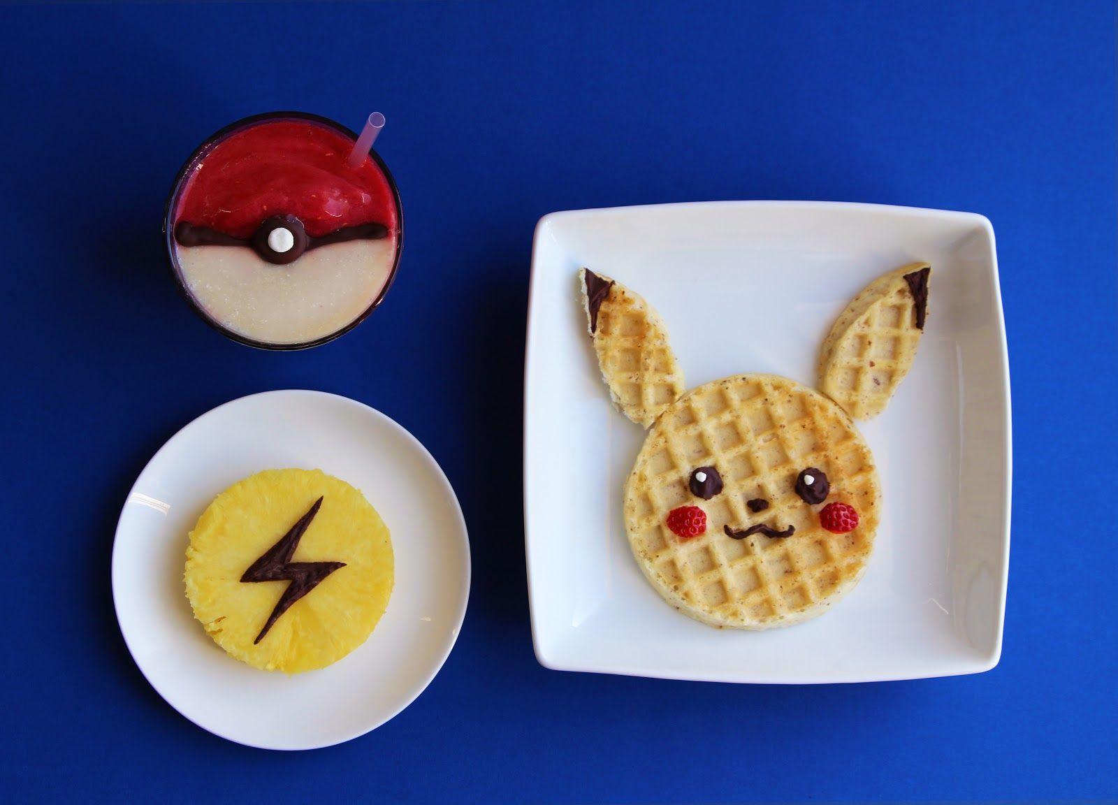 Pokémon breakfast kids' tummies health pinterest birthdays