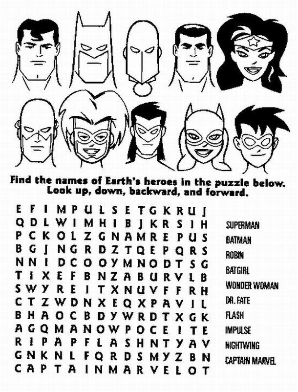 superhero colouring pages google search