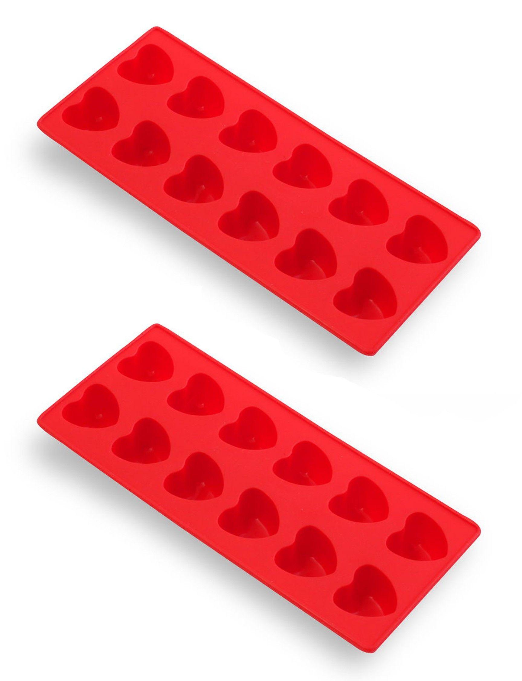 Hearts Ice Cube Mould Set (2 pieces) - Vialli Design