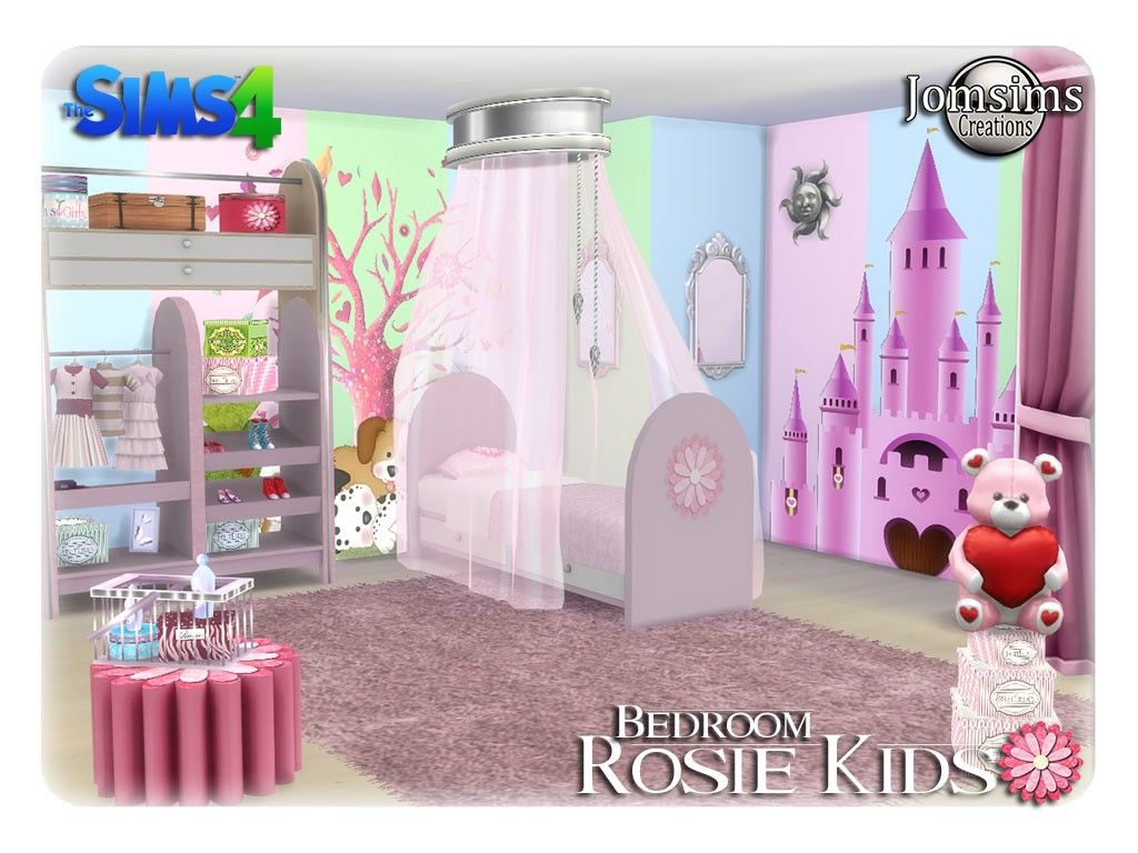 Children S Room Sims 4 Sims 4 Bedroom Sims 4 Sims 4 Blog