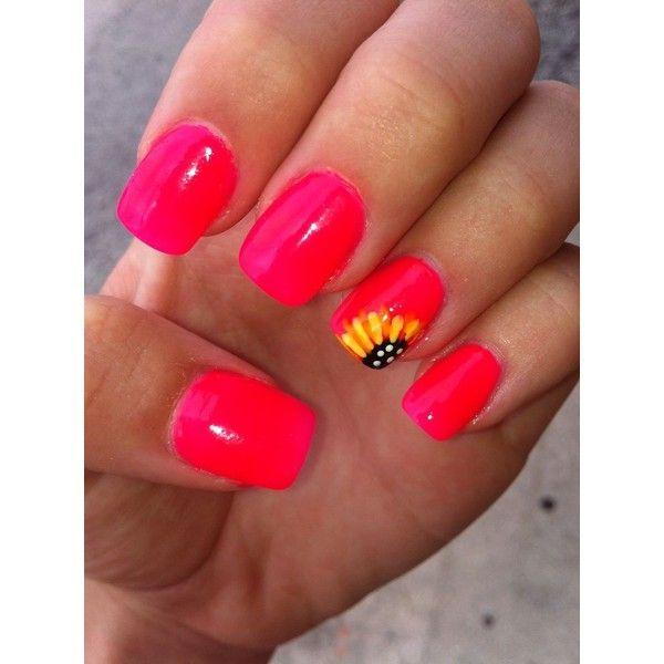 trendy nail art ideas for summer 2015 via polyvore köröm