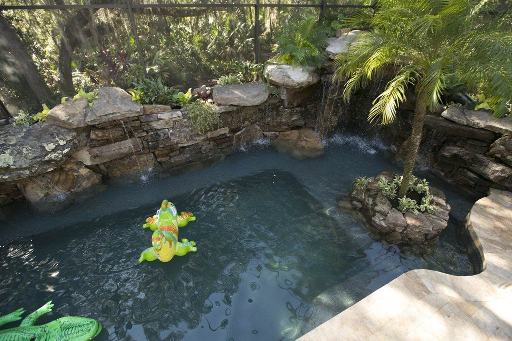 The 6 Most Jaw Dropping Swimming Pool Makeovers Insane Pools Pool Makeover Pool Landscaping