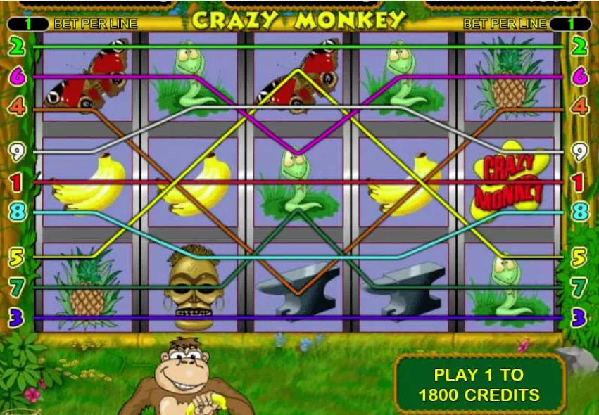 Автоматы обезьянки деньги